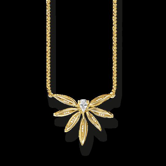 Kette Blätter gold aus der Glam & Soul Kollektion im Online Shop von THOMAS SABO