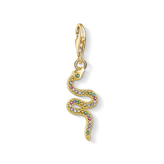 Charm pendant Colourful snake from the Charm Club collection in the THOMAS SABO online store