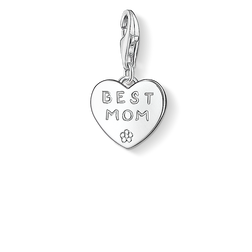 Charm pendant BEST MOM from the Charm Club Collection collection in the THOMAS SABO online store