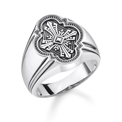 "ring ""Cross"" from the Rebel at heart collection in the THOMAS SABO online store"