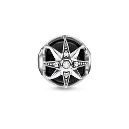 "Bead ""Royalty Star black"" from the Karma Beads collection in the THOMAS SABO online store"