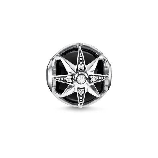 """Bead """"Royalty Star black"""" from the Karma Beads collection in the THOMAS SABO online store"""