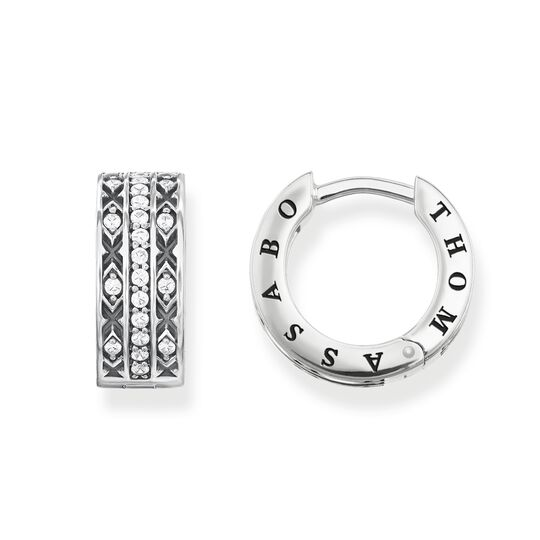 hoop earrings asian ornaments from the Glam & Soul collection in the THOMAS SABO online store