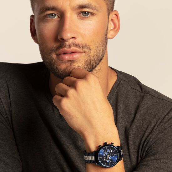 """men's watch """"MATCH"""" from the Rebel at heart collection in the THOMAS SABO online store"""