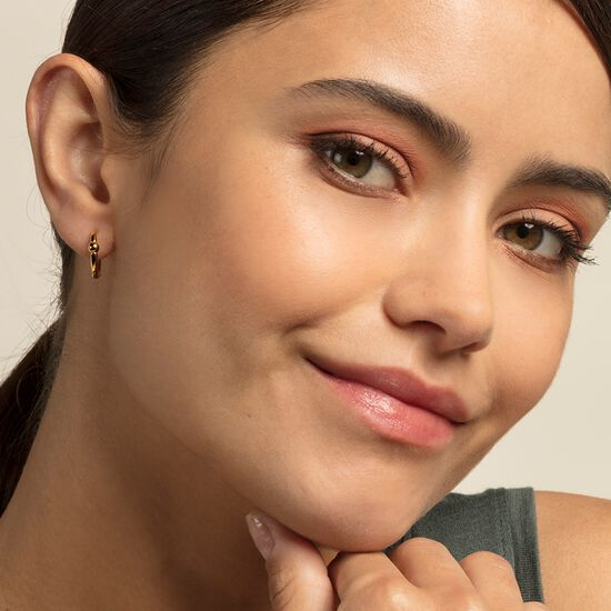 hoop earrings from the Glam & Soul collection in the THOMAS SABO online store