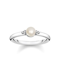 anello con perla from the Glam & Soul collection in the THOMAS SABO online store