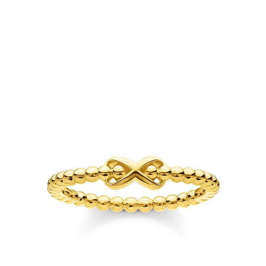 Ring dots with infinity gold from the Charming Collection collection in the THOMAS SABO online store