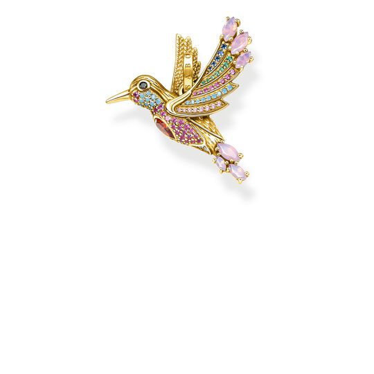 Pendant colourful hummingbird gold from the Glam & Soul collection in the THOMAS SABO online store