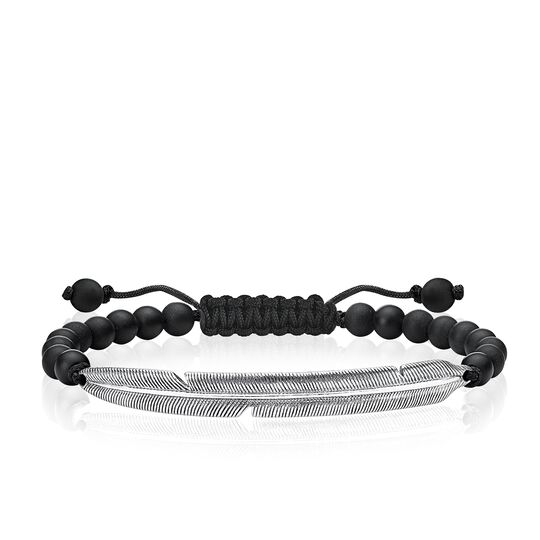 bracelet ethno feather from the Love Bridge collection in the THOMAS SABO online store