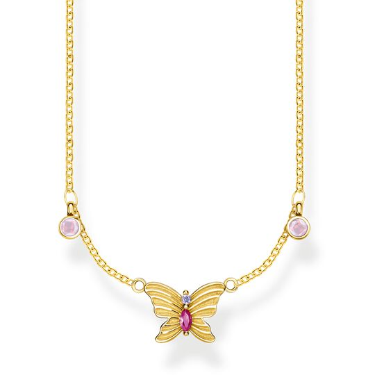 necklace butterfly gold from the  collection in the THOMAS SABO online store