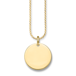 "necklace ""disc"" from the Love Bridge collection in the THOMAS SABO online store"