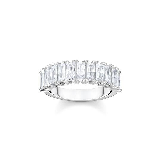 Ring vit stenar pavé silver ur kollektionen  i THOMAS SABO:s onlineshop