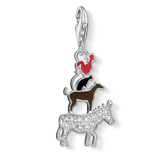Charm pendant Bremen Town Musicians from the  collection in the THOMAS SABO online store