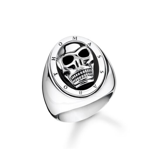 ring skull from the  collection in the THOMAS SABO online store