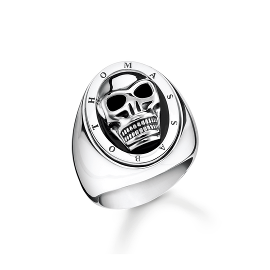 bague tête de mort de la collection Rebel at heart dans la boutique en ligne de THOMAS SABO