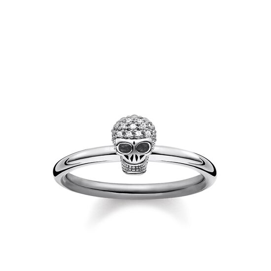 c25087db0 ring from the Rebel at heart collection in the THOMAS SABO online store
