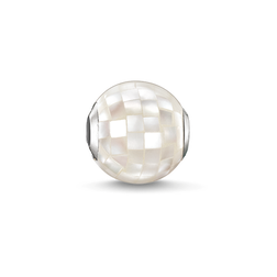 "Bead ""nacre blanc"" de la collection Karma Beads dans la boutique en ligne de THOMAS SABO"