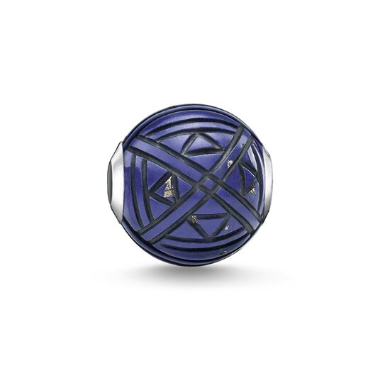"Bead ""Etnico blu"" from the Karma Beads collection in the THOMAS SABO online store"