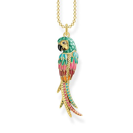 Necklace parrot gold from the  collection in the THOMAS SABO online store