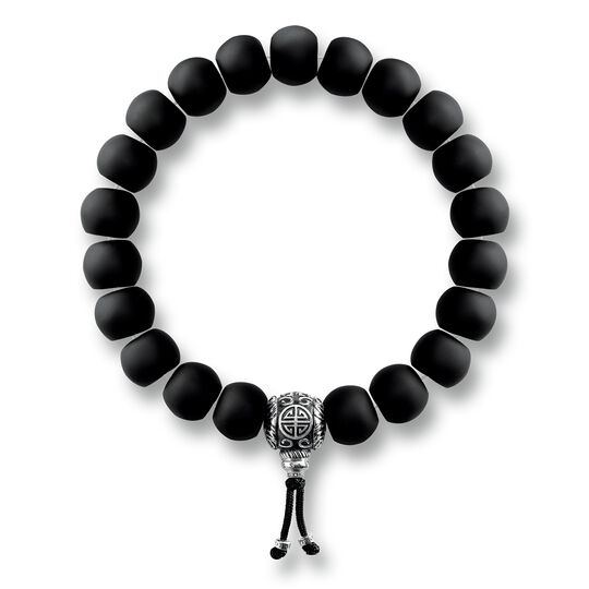 bracelet ethnique Power Bracelet noir de la collection Rebel at heart dans la boutique en ligne de THOMAS SABO