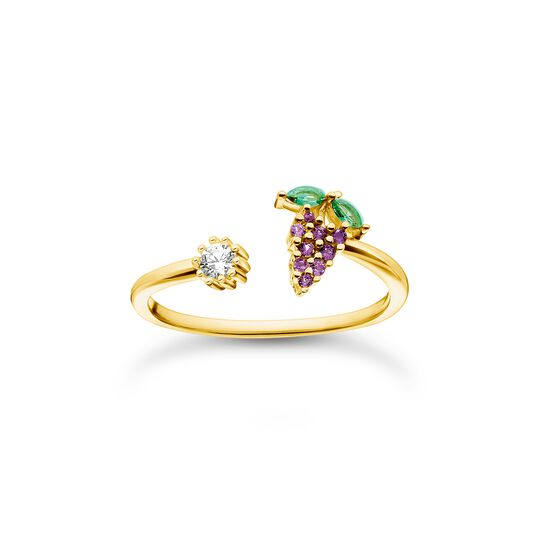 Ring Weintraube gold aus der Charming Collection Kollektion im Online Shop von THOMAS SABO