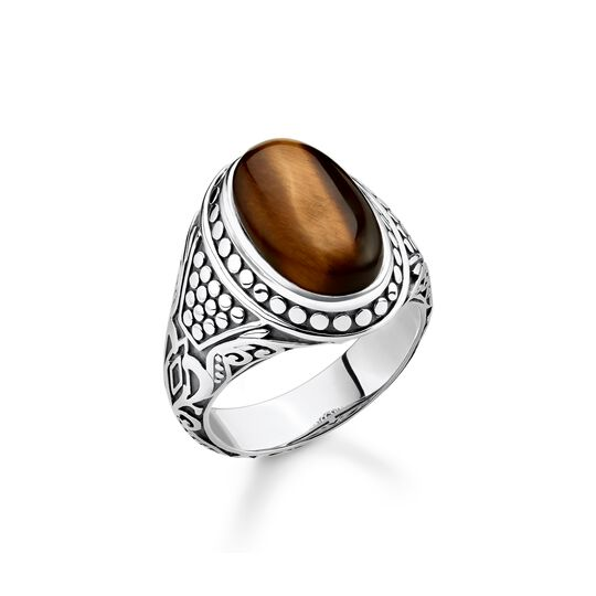 ring brown from the  collection in the THOMAS SABO online store