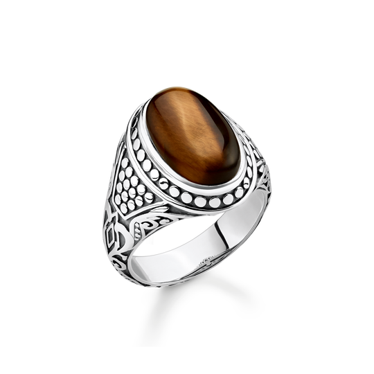 ring brown from the Rebel at heart collection in the THOMAS SABO online store
