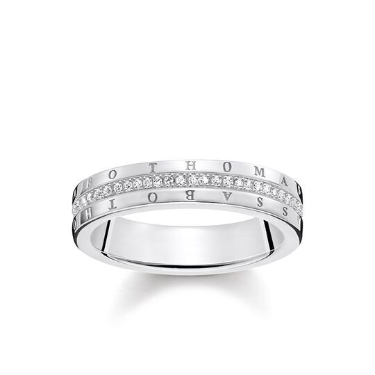 ring classic white from the Glam & Soul collection in the THOMAS SABO online store