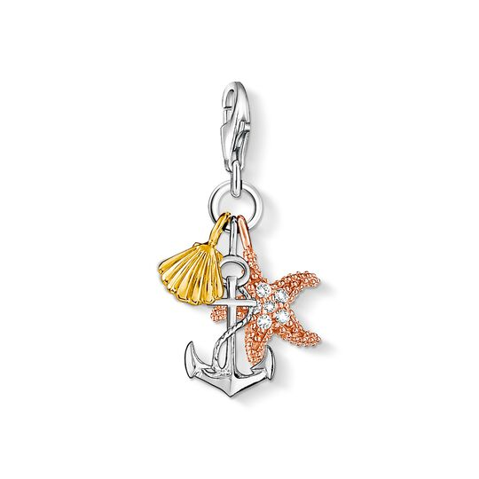 Charm pendant summer / beach from the Charm Club collection in the THOMAS SABO online store