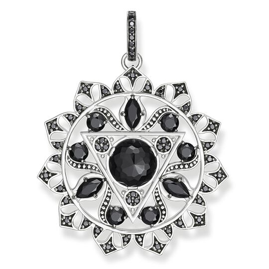 "pendant ""black solar plexus chakra"" from the Chakras collection in the THOMAS SABO online store"
