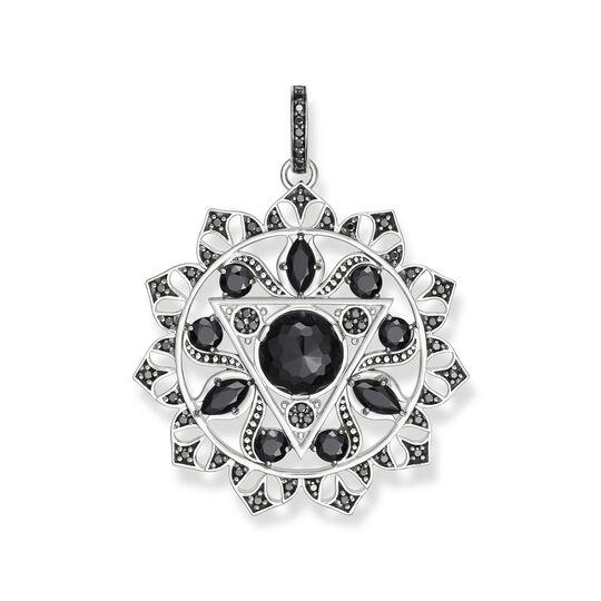 """colgante """"Chakra del plexo solar negro"""" de la colección Chakras en la tienda online de THOMAS SABO"""