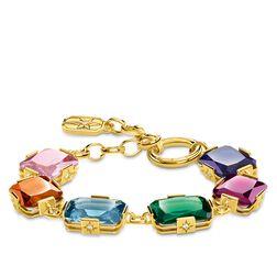 Armband Große farbige Steine gold aus der Glam & Soul Kollektion im Online Shop von THOMAS SABO