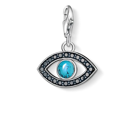 "ciondolo Charm ""occhio di Allah"" from the  collection in the THOMAS SABO online store"
