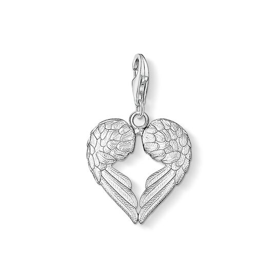 Charm pendant winged heart from the Charm Club collection in the THOMAS SABO online store