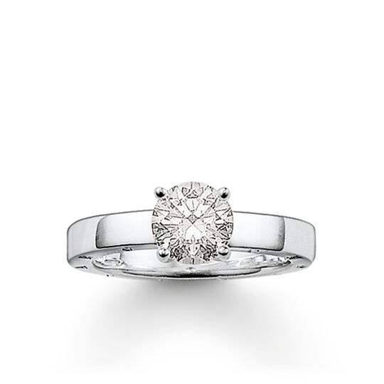 solitaire ring from the Glam & Soul collection in the THOMAS SABO online store