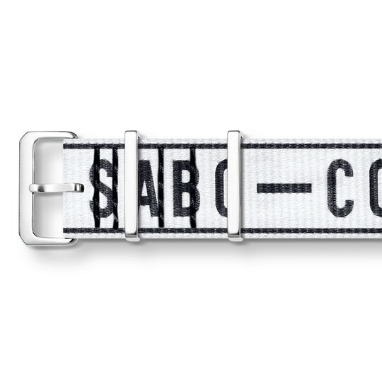 Watch strap Urban CODE TS NATO, white from the  collection in the THOMAS SABO online store