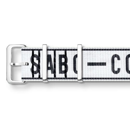 Bracelet pour montres Nato CODE TS style urbain blanc de la collection  dans la boutique en ligne de THOMAS SABO