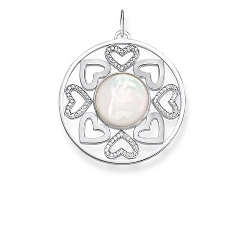 "pendant ""hearts"" from the Love Bridge collection in the THOMAS SABO online store"
