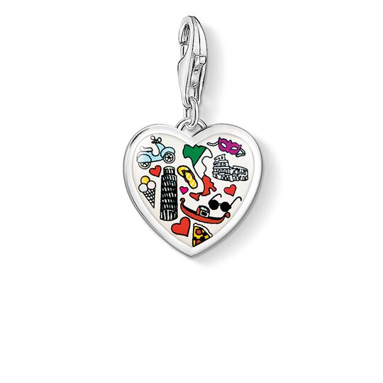 Charm pendant Italy heart from the  collection in the THOMAS SABO online store