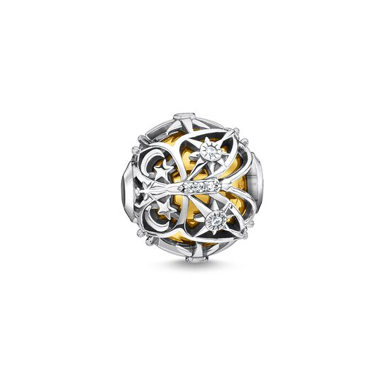 Bead butterfly with stars gold from the  collection in the THOMAS SABO online store