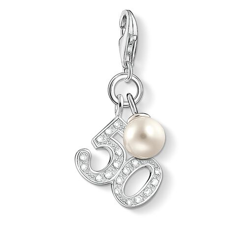 "Charm pendant ""50"" from the  collection in the THOMAS SABO online store"