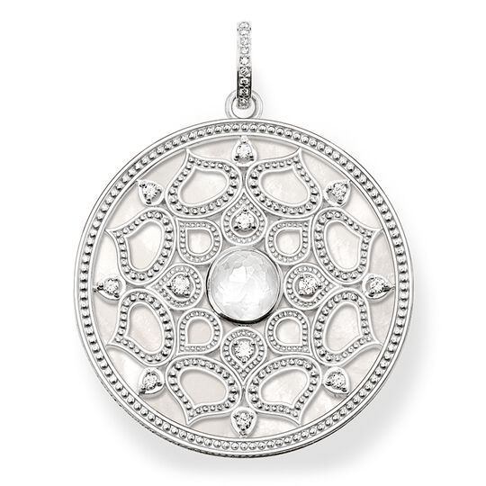 "pendant ""white lotus"" from the Glam & Soul collection in the THOMAS SABO online store"