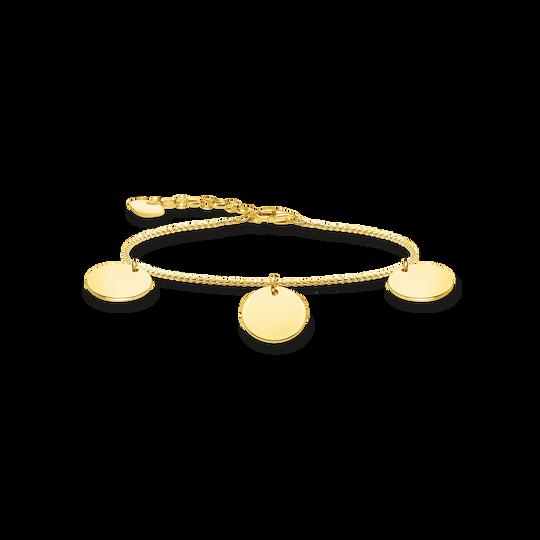 Armband mit drei Coins gold aus der Glam & Soul Kollektion im Online Shop von THOMAS SABO