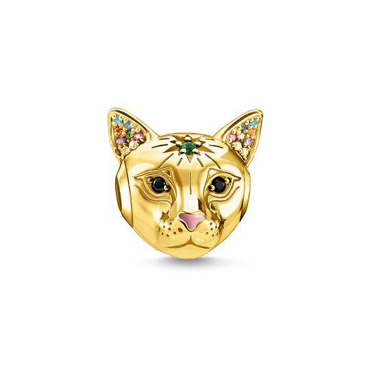 Bead katt guld ur kollektionen Karma Beads i THOMAS SABO:s onlineshop