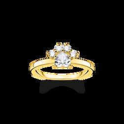 Ring Pfote Katze gold aus der Glam & Soul Kollektion im Online Shop von THOMAS SABO