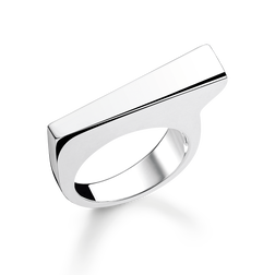 "ring ""Classic Bar"" from the Glam & Soul collection in the THOMAS SABO online store"