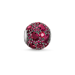 Bead feu rouge de la collection Karma Beads dans la boutique en ligne de THOMAS SABO