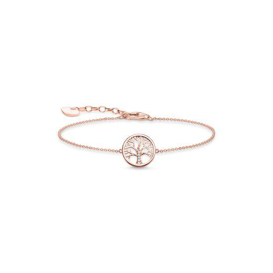 bracelet quottree of love pinkquot � a1828 � women � thomas sabo