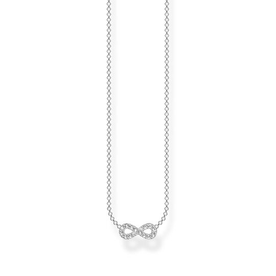 Necklace infinity silver from the Charming Collection collection in the THOMAS SABO online store