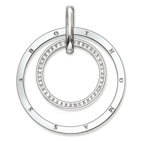 pendant circles pavé from the Glam & Soul collection in the THOMAS SABO online store